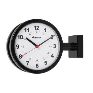 送料無料 DOUBLE FACE CLOCK 170D BLACK ダルトン DULTON 掛け時計 壁掛け時計 おしゃれ 両面 アナログ|zakkayafree