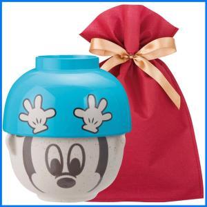 ディズニー汁椀茶碗(ミニ) ギフトセット ミッキーマウス【L】【F】 茶碗 お椀 子供 ディズニー ごはん茶碗 食器セット プレゼント zakkayafree