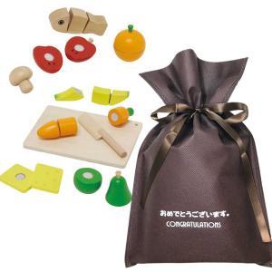 送料無料 【おめでとうございますギフト】ウッデントイ ちいさなコックサン【L】 木のおもちゃ ままごと 女の子 知育 木製玩具 プレゼント 雑貨 ラッピング|zakkayafree