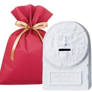 送料無料 真実の口バンク ギフトセット【L】 おもしろ 貯金箱 プレゼント 雑貨|zakkayafree