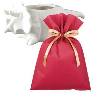 送料無料 ダイナソーポット トリケラトプス(ホワイト)ギフトセット【L】 恐竜 グッズ プレゼント 植木鉢 おしゃれ 室内 小物入れ プレゼント zakkayafree