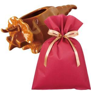 送料無料 ダイナソーポット トリケラトプス(ブラウン)ギフトセット【L】 恐竜 グッズ プレゼント 植木鉢 おしゃれ 室内 小物入れ プレゼント zakkayafree