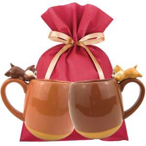【送料込】チップ&デール マグ ギフトセット【W】 チップ&デール チップとデール ペア マグカップ キャラクター ディズニー 食器 セット ギフト zakkayafree