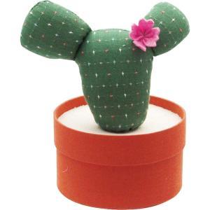 カクタスソーイングセット PINK FLOWER ソーイングセット おしゃれ 裁縫セット 裁縫セット ソーイングボックス かわいい サボテン インテリア zakkayafree