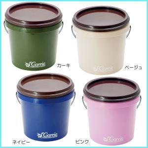 小物入れにも、ガーデニングにも使えそう〜  定番カラーと使いやすさが人気のCARRIEの収納アイテム...