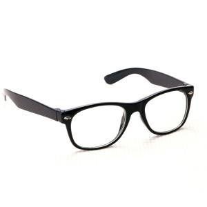 【あすつく】キッズサングラス クール ブラック (クリアレンズ) サングラス 子供用 キッズ サングラス 伊達メガネ だてメガネ おしゃれメガネ zakkayafree
