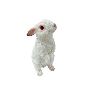 チアフルフレンズ ウサギのミーナ ガーデン オーナメント 動物 うさぎ ガーデニング オーナメント ガーデン 置物 オブジェ かわいい zakkayafree