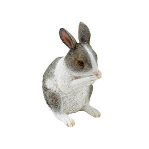 チアフルフレンズ ウサギのレナ ガーデン オーナメント 動物 うさぎ ガーデニング オーナメント ガーデン 置物 オブジェ かわいい zakkayafree