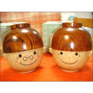 敬老の日プレゼント お茶碗セット 夫婦茶碗 まんぷくセット|zakkayafree