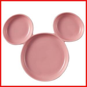 プレート ピンク ミッキーマウス ミッキーマウス アイコン ランチプレート 子供 陶器 食器 zakkayafree