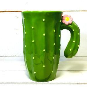 サボテンマグ マグカップ 大きい おしゃれ かわいい サボテン オブジェ|zakkayafree