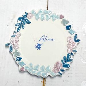 プレート アリスインワンダーランド 不思議の国のアリス グッズ 食器 皿 プレート|zakkayafree
