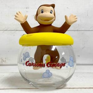 ドーム型加湿器(おさるのジョージ) 加湿器 卓上 気化式 陶器 かわいい おさるのジョージ 置物|zakkayafree