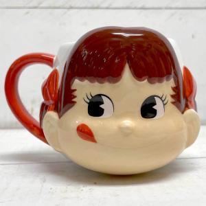 フェイスマグ ペコちゃん ペコちゃん グッズ マグカップ コーヒーカップ ティーカップ キャラクター|zakkayafree