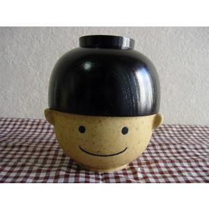 まんぷく茶碗と椀セット (まんぷく太郎)|zakkayafree