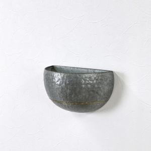 CLADDING 壁掛ケブリキガーデンポット プランター 壁掛け ポット おしゃれ 植木鉢 zakkayafree