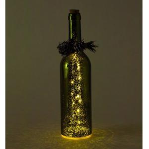 SPICE クリスマス スノーフレークLEDボトル グリーン イルミネーション ライト ランプ クリスマス 装飾 かわいい おしゃれ プレゼント インテリア小物 飾り|zakkayafree