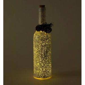 SPICE クリスマス スノーフレークLEDボトル ホワイト イルミネーション ライト ランプ クリスマス 装飾 かわいい おしゃれ プレゼント インテリア小物 飾り|zakkayafree
