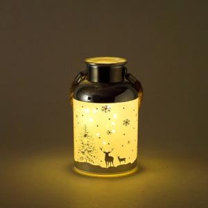 SPICE クリスマス ハンギングLEDボトル スノー Sサイズ イルミネーション ライト ランプ クリスマス 装飾 かわいい おしゃれ プレゼント インテリア小物 飾り|zakkayafree