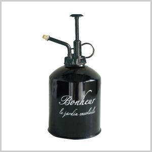 霧吹き スプレー おしゃれ ブリキ スプレーボトル ボヌールスプレー BLACK