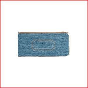 表紙がデニム生地の付箋  本物のデニム布地を使用しています。  本物だからこそ使い込む楽しさも味わっ...