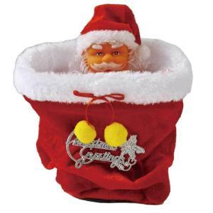 FUNNYクリスマス ミュージック peekabooサンタ ダンシング サンタ ぬいぐるみ サンタクロース 踊る 人形 ぬいぐるみ パーティー イベント クリスマス用品|zakkayafree