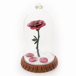 送料無料 Enchanted Rose 美女と野獣 魔法のバラ ディズニー フィギュア 置物 人形 フィギア オブジェ