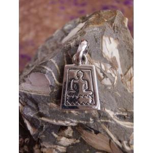 仏陀 ブッダ お釈迦様 ペンダントトップ シルバー925 silver925 アジア エスニック 神様  シンプルでカッコいい zakkayakaeru