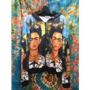 フリーダ・カーロ フリーダカーロ メキシコの画家 女性画家 アジアンファッション メンズ レディス 春秋パーカー 春秋アウター|zakkayakaeru