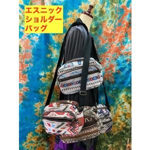 大人のエスニックショルダーバッグ 4種類 カジュアルにも 男女共用 使いやすい ポケット3ヶ!|zakkayakaeru