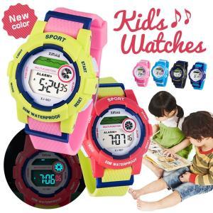 電子時計 腕時計 キッズ 子供  防水 安い シリコン スポーツ LED 男女 おしゃれ カジュアル|zakzak