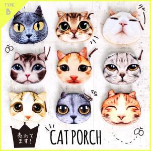 猫 ポーチ ねこポーチ 猫雑貨 ねこ ネコ コインケース 財布 小銭入れ 小物入れ cat プチプラ 激安|zakzak