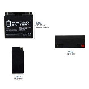 Mighty Max Battery 12V 7AH Compatible for APC Dell Smart-UPS 750VA DLA750-8 Pack Brand Product