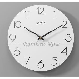 壁掛け時計 掛け時計 デジタル 静音 北欧 シンプル 大きい 35CM 大型 静音 時計 壁掛け時計 見やすい インテリア お洒落 装飾|zariapalei