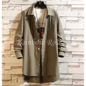 トレンチコート メンズ ロングシャツ 薄手 スプリングコート カジュアル ジャケット アウター コート 紳士 秋 冬 メンズファッショ|zariapalei