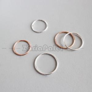 SILVER925製 指輪 リング シルバー925 ファッション シンプル レディース かわいい シルバーアクセサリー ペアリング ピンキーリング オシャレ 可愛い 安い zariapalei