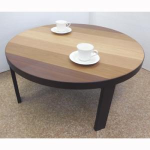 グラデーション軽量80丸折り畳みテーブル|zataku