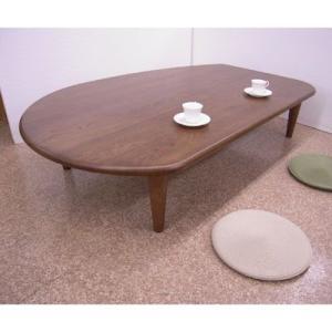 ナラ無垢ハギ板オーダー変形テーブル|zataku