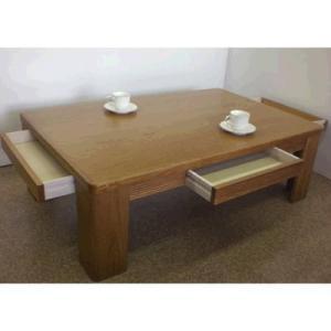 4杯引出し付きテーブル(120cm)|zataku