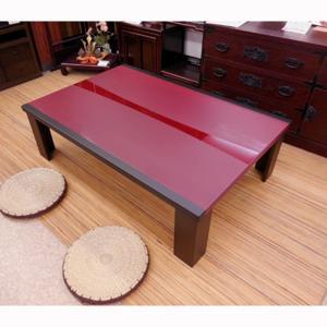 乾漆調・超軽量150折れ脚座卓|zataku