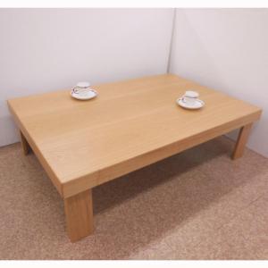 タモNA150折り畳みの脚が隠れる座卓|zataku