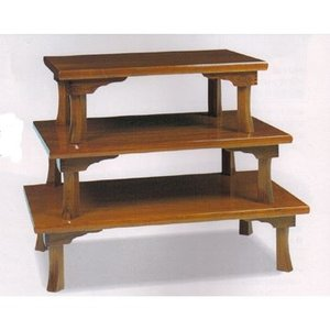讃岐折れ脚テーブル(75cm)|zataku