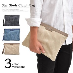 クラッチバッグ セカンドバッグ ハンドバッグ クラッチ メンズバッグ カバン 鞄 かばん タウンユース 軽い 軽量 バッグインバッグ 人気 男性用|zazach