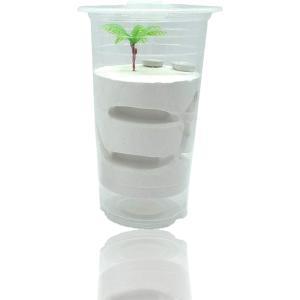 蟻 飼育 観察 キット アリの巣 自由研究 昆虫 石膏 ケース 無 餌入れ 石膏製 巣箱 透明(S) zebrand-shop