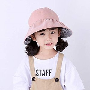 バイザー帽子 総レース サンバイザーハット 折りたためる 子供用 日よけ 紫外線対策 UVケア 折り畳み MDM(B--ピンク, シングル)|zebrand-shop