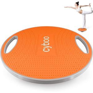 バランスボード 体幹 トレーニング器具 バランスディスク滑り止め ダイエット器具 ストレッチボード バランストレーニング MDM(オレンジ)|zebrand-shop