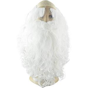 サンタ ひげ サンタのひげ サンタクロース サンタコスプレ かつら ウィッグ 髭 眉毛 セット