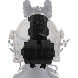 サバゲーヘルメットポーチ バッテリーポーチ タクティカルヘルメット アクセサリー サバイバルゲーム ...