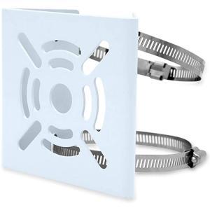 防犯 カメラ ステンレス バンド 電柱 金具 2本 取付 ポール 固定 長方形(アーミーグリーン, 円柱) zebrand-shop