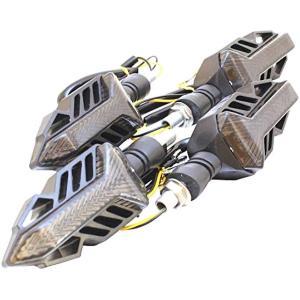 流れるバイクウインカー シーケンシャル 4個 カスタム Z250 MT-25 CB250F Z1000 GSX-S1000 MT-09|zebrand-shop
